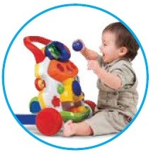 Activity Center with lights and sounds