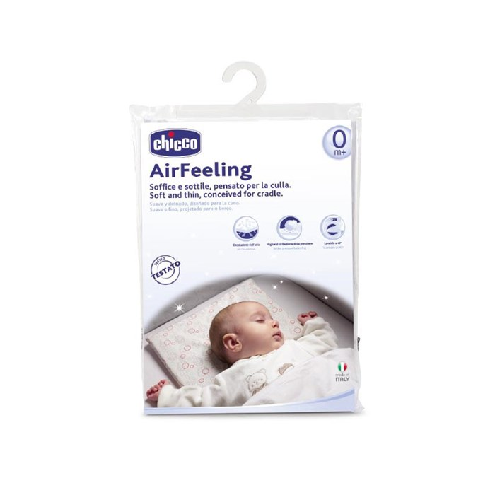AirFeeling Soft and Thin Pillow Conceived for Cradle