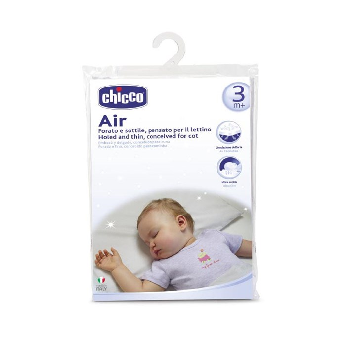 Air Holed and Thin Pillow, Conceived for Cot