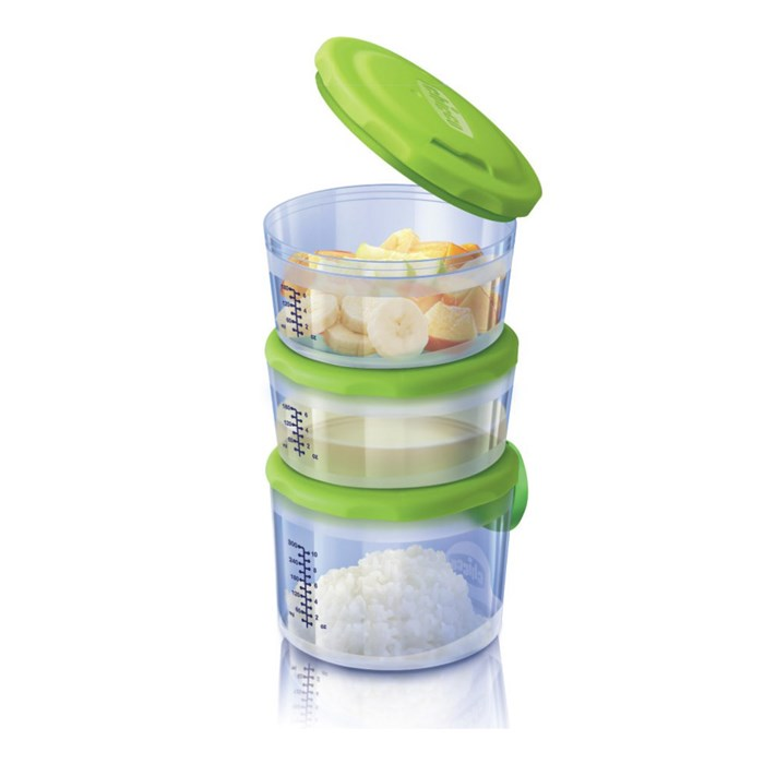 Baby Food Containers System