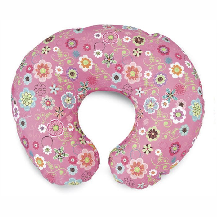 Boppy Breast Feeding Pillow with Cotton Slipcovers