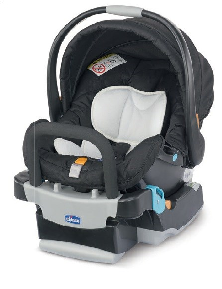 Key Fit Child Car Seat with base