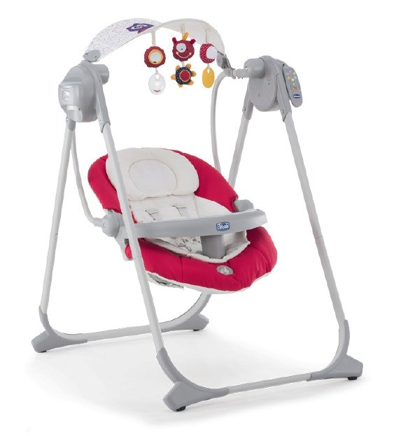 Polly Swing Up Electronic Bouncing Chair